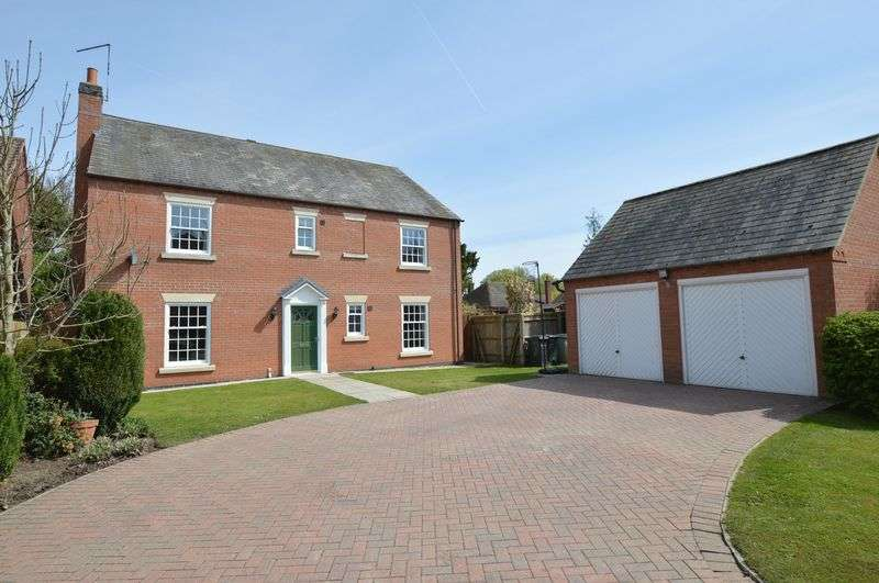 4 Bedrooms Detached House for sale in 5 Baines Close, Coningsby** Under Offer**