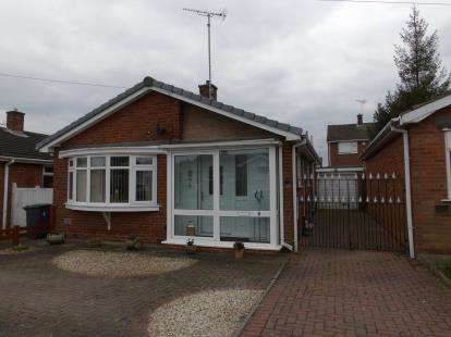 2 Bedrooms Bungalow for sale in Roger Close, Sutton-In-Ashfield, Nottinghamshire