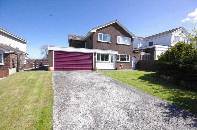 4 Bedrooms Detached House for sale in 12 Parc Aberconwy