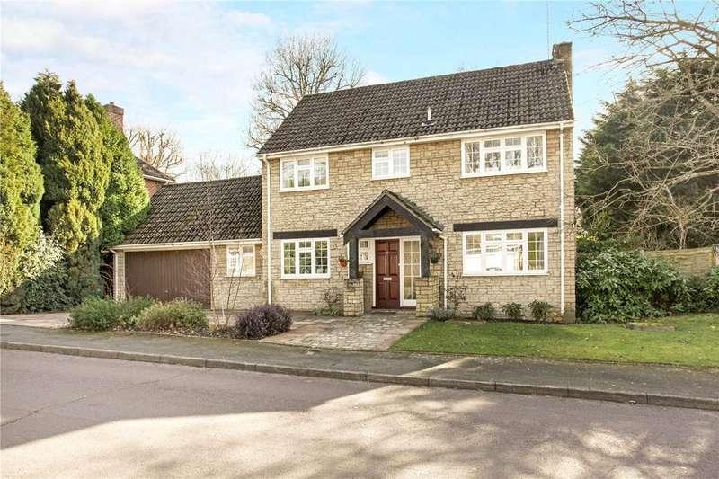 4 Bedrooms Detached House for sale in Highwayman's Ridge, Windlesham, Surrey, GU20