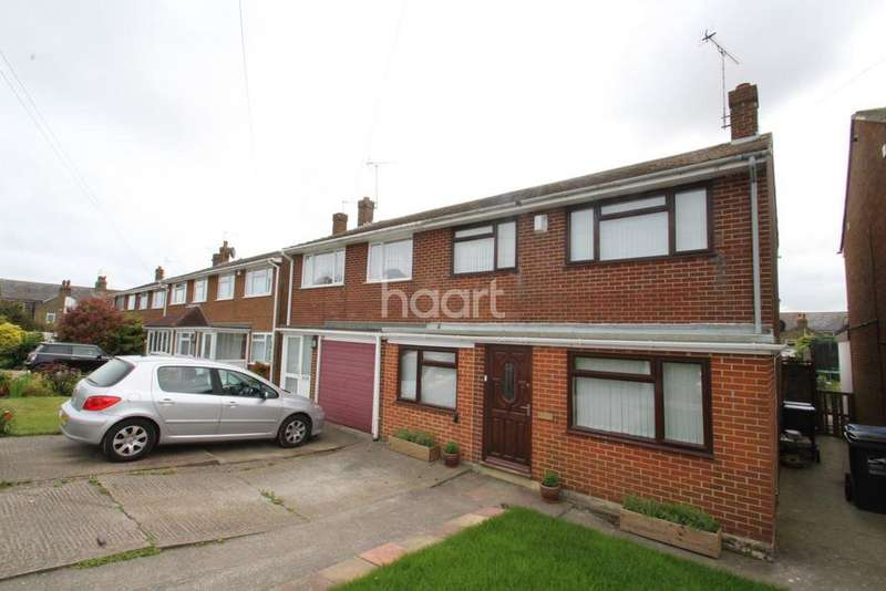 3 Bedrooms Semi Detached House for sale in Victoria Avenue,Broadstairs,CT10