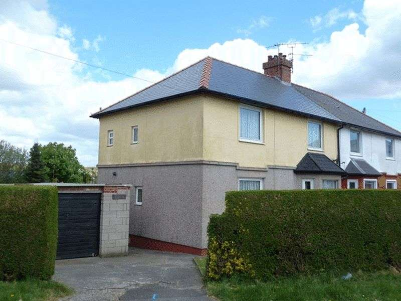 3 Bedrooms Semi Detached House for sale in Dyfan Road, Barry