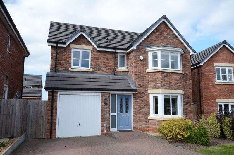 4 Bedrooms Detached House for sale in Millside Close, Tarvin, Chester