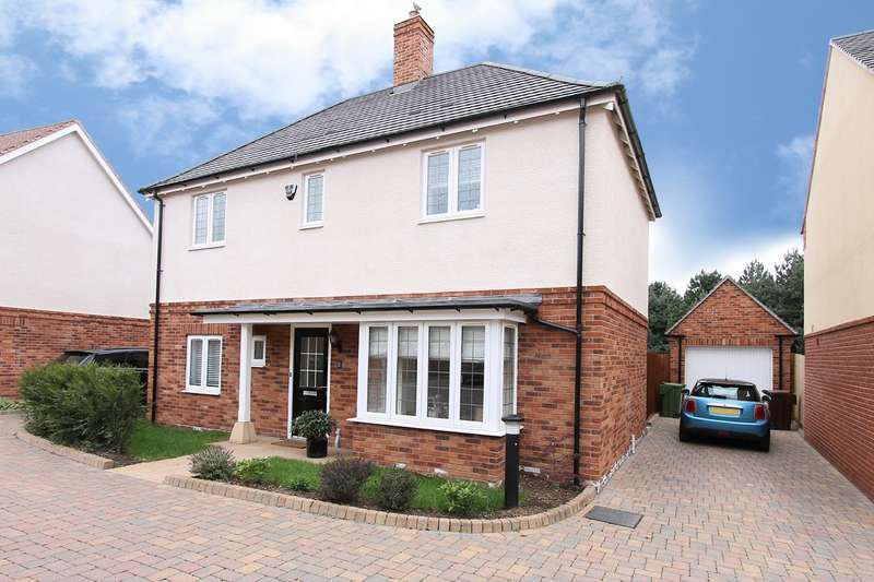 3 Bedrooms Detached House for sale in Luckett Close, Hagley, STOURBRIDGE, DY9