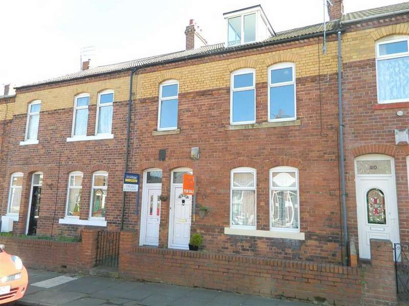 2 Bedrooms Maisonette Flat for sale in Lansdowne Terrace, North Shields, Tyne And Wear, NE29