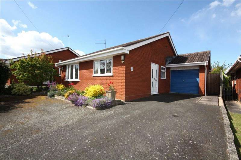 2 Bedrooms Detached Bungalow for sale in Kielder Rise, Worcester, Worcestershire, WR2