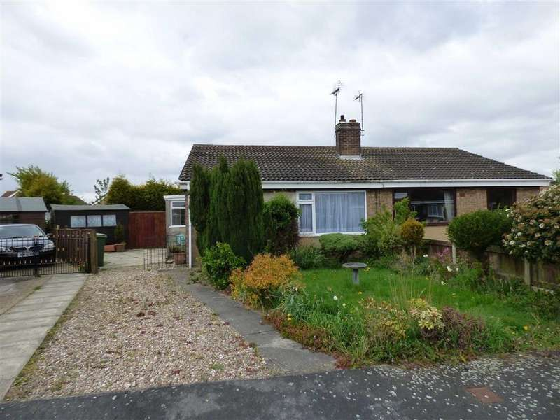 2 Bedrooms Semi Detached Bungalow for sale in Orchard Way, Gilberdyke