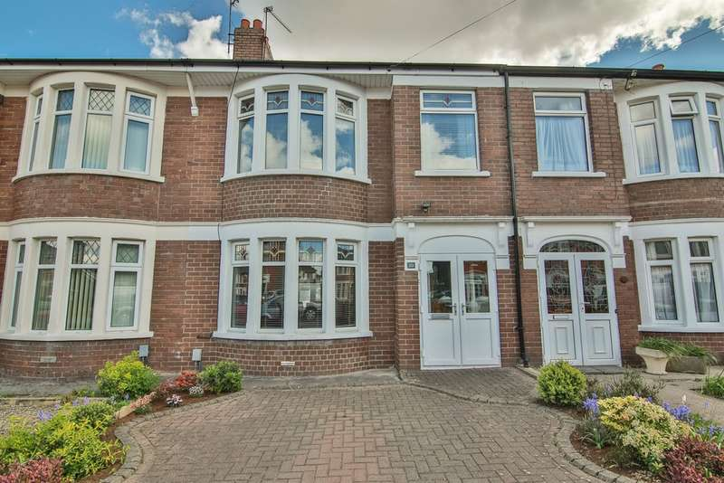 3 Bedrooms Terraced House for sale in St Helens Road, Heath, Cardiff