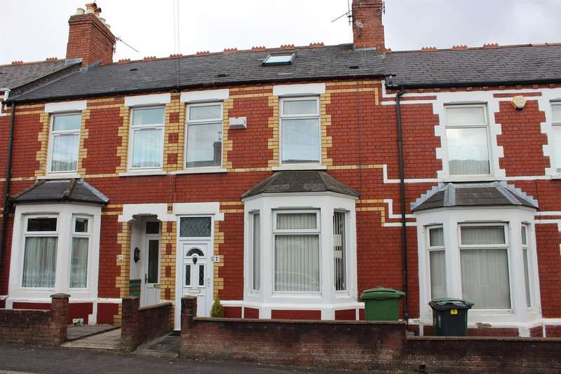 3 Bedrooms Terraced House for sale in Wauntreoda Road, Cardiff