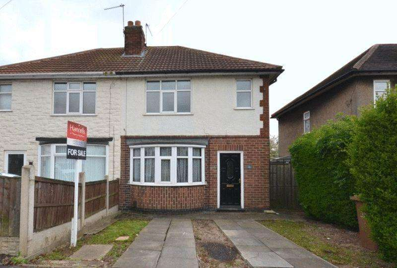 2 Bedrooms Semi Detached House for sale in ALBERT ROAD, CHADDESDEN