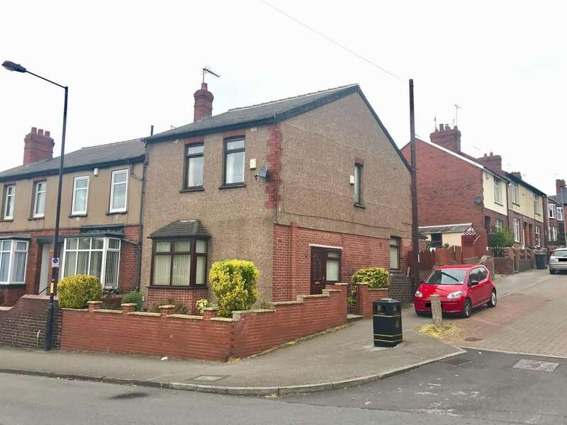 3 Bedrooms End Of Terrace House for sale in Grove Street, Barnsley S71