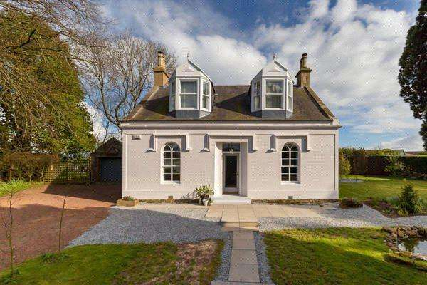 3 Bedrooms Detached House for sale in Retreat Cottage, 2 Maunsheugh Road, Fenwick, East Ayrshire, KA3