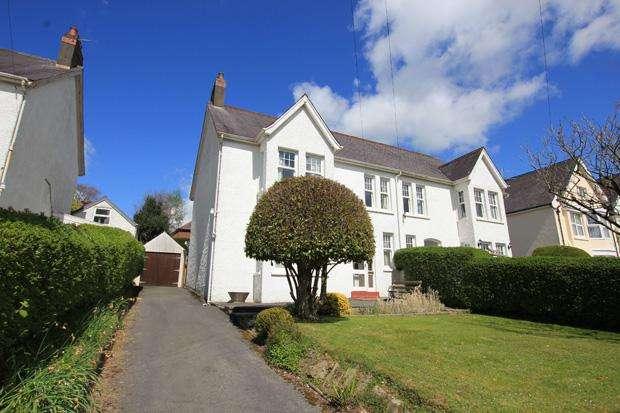 4 Bedrooms Semi Detached House for sale in Longacre Road, Carmarthen, Carmarthenshire