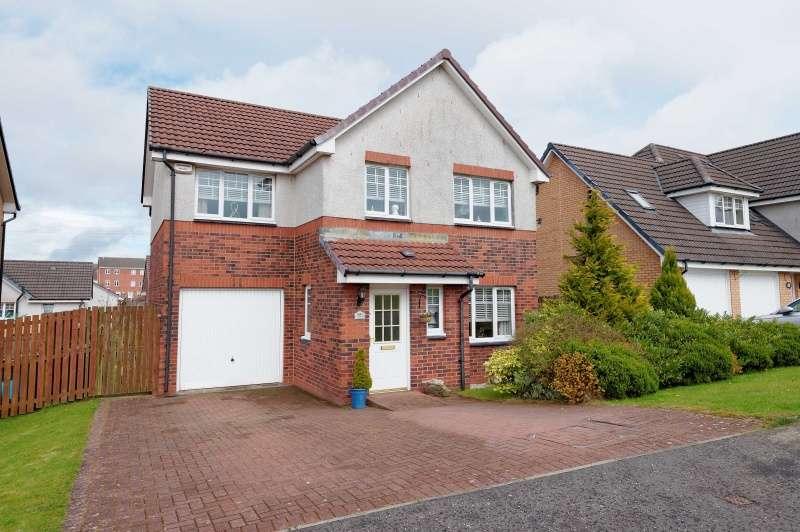 4 Bedrooms Detached Villa House for sale in Broompark Crescent, Woodlands, Airdrie, ML6 6GA