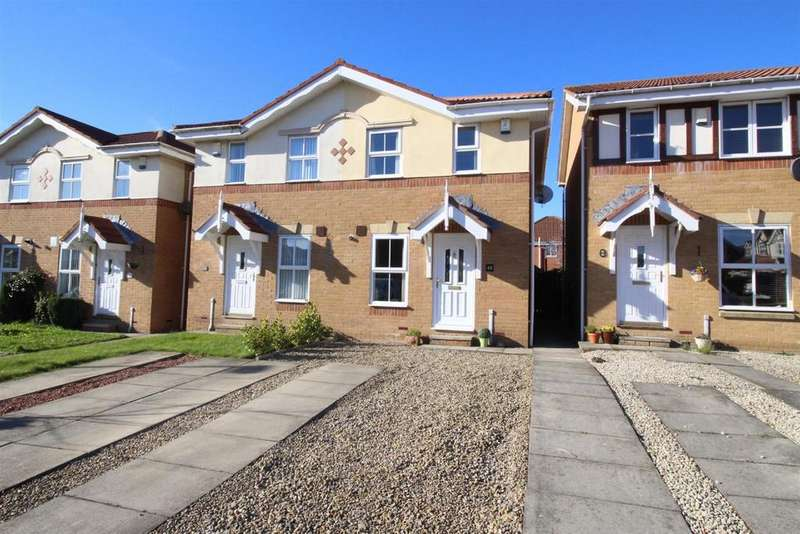 2 Bedrooms Semi Detached House for sale in Greenhills, Newcastle-upon-Tyne