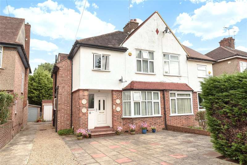 3 Bedrooms Semi Detached House for sale in Lyncroft Avenue, Pinner, Middlesex, HA5