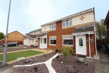 2 Bedrooms Semi Detached House for sale in Thistledown Grove, Coatbridge, North Lanarkshire