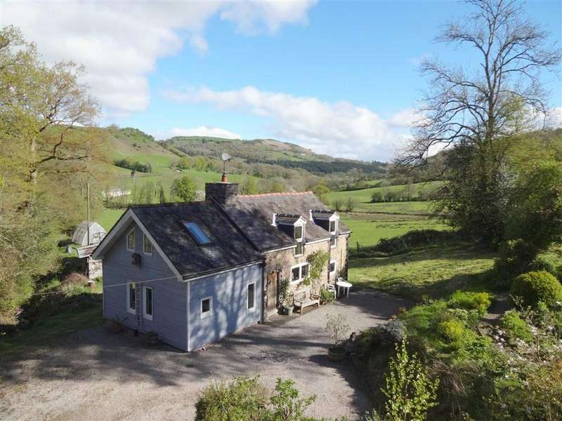 2 Bedrooms Detached House for sale in The Glyn, Cwm Nant Y Meichiaid, Llanfyllin, Powys, SY22