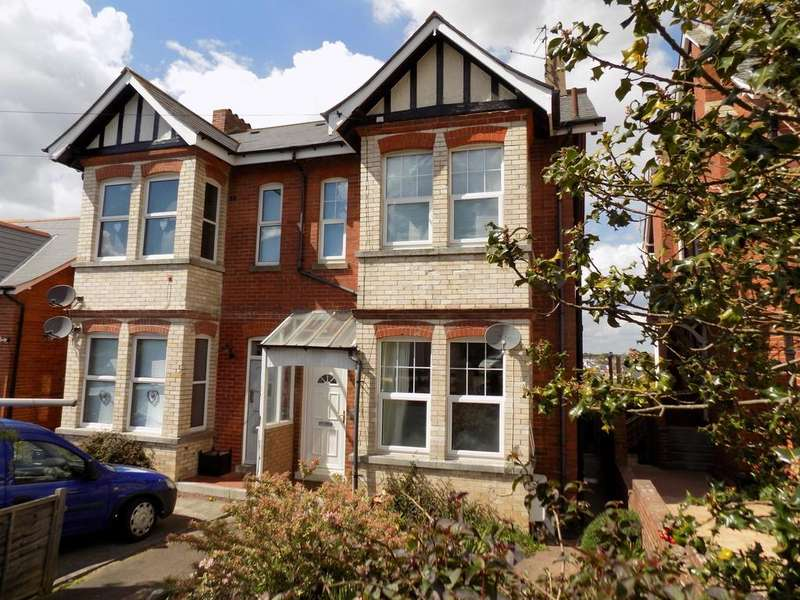 2 Bedrooms Maisonette Flat for sale in Albion Hill, Exmouth