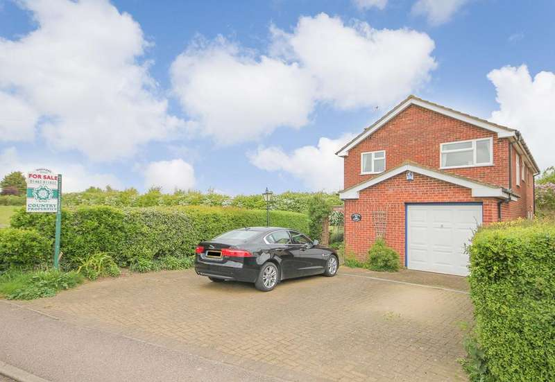 4 Bedrooms Detached House for sale in Hanscombe End Road, Shillington, Hitchin, SG5