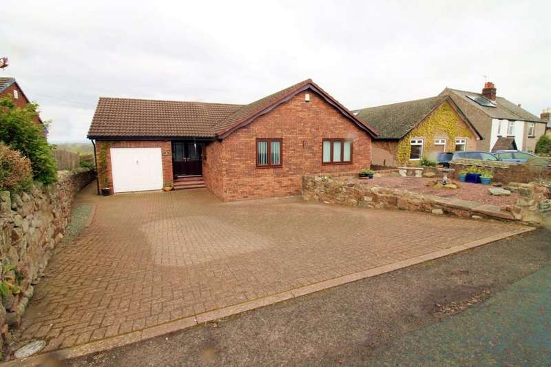 3 Bedrooms Detached Bungalow for sale in Back Street, Cotehill, Carlisle