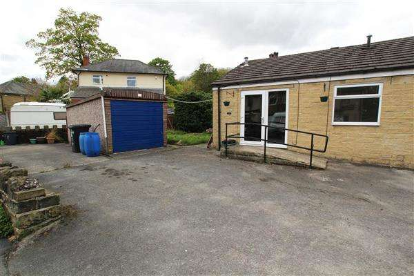 2 Bedrooms Semi Detached Bungalow for sale in Simpson Road, Mytholmroyd, Hebden Bridge