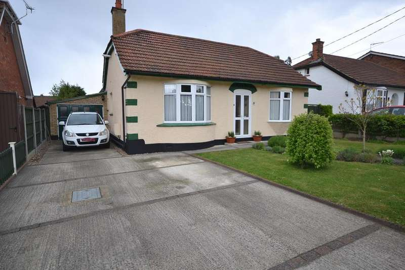 2 Bedrooms Detached Bungalow for sale in Chamberlain Avenue, Corringham, SS17