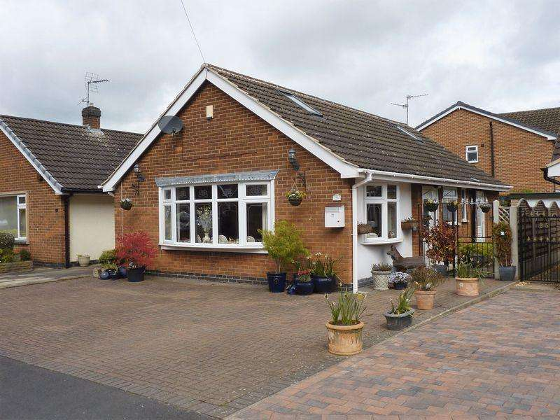 2 Bedrooms Bungalow for sale in Ashmeadow, Borrowash, Derby