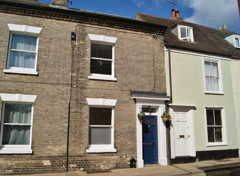 3 Bedrooms Terraced House for sale in Guildhall Street, Bury St Edmunds IP33