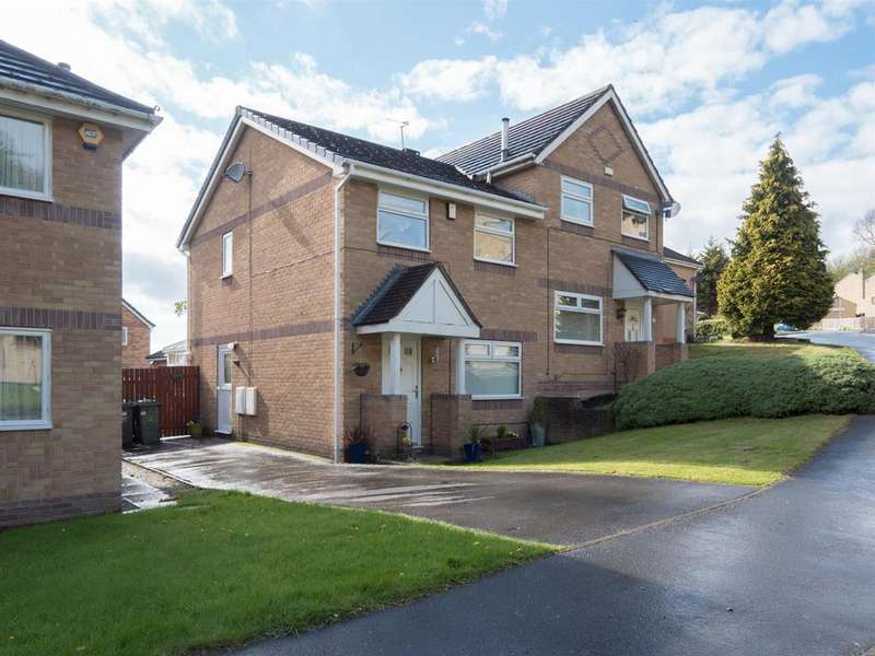 3 Bedrooms Semi Detached House for sale in Long Meadows, Bradford, BD2 1LA