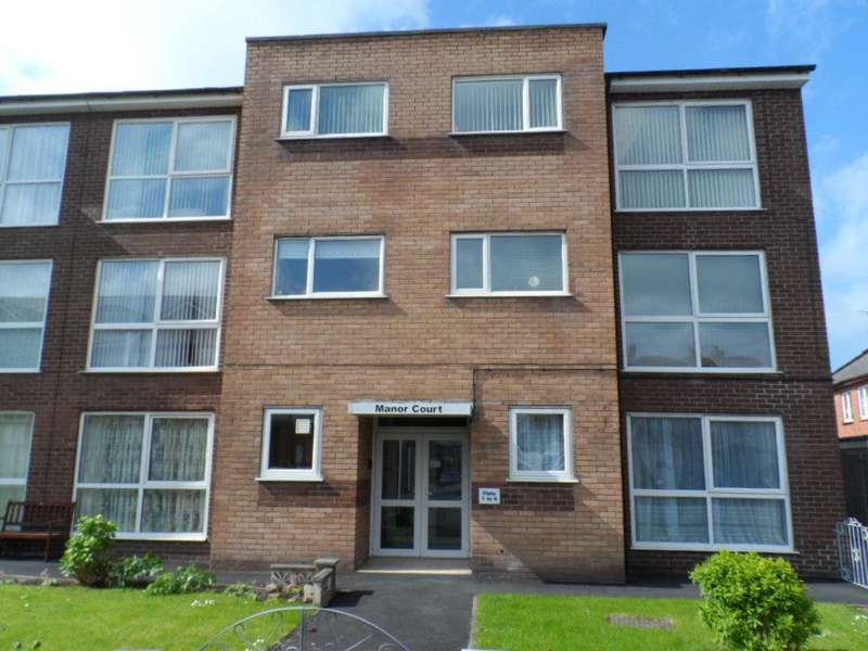 2 Bedrooms Flat for sale in Manor Court, Blackpool, FY4 4BG