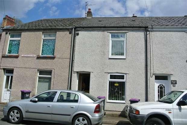 2 Bedrooms Terraced House for sale in Freeholdland Road, Pontnewynydd, PONTYPOOL, Torfaen