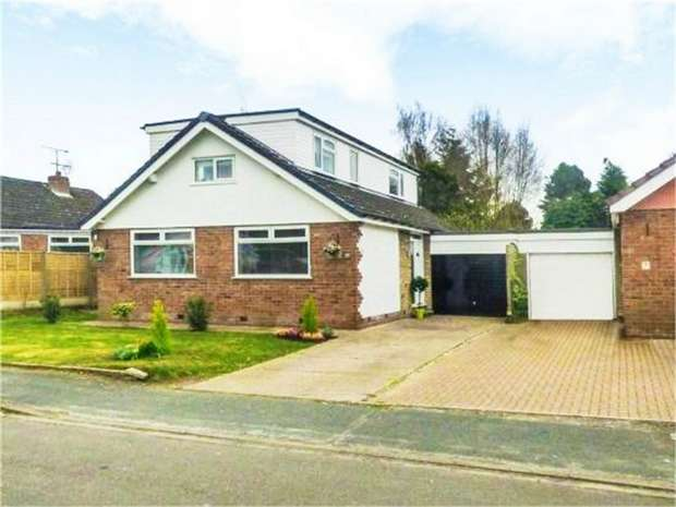4 Bedrooms Detached House for sale in Meadow Avenue, Goostrey, Crewe, Cheshire