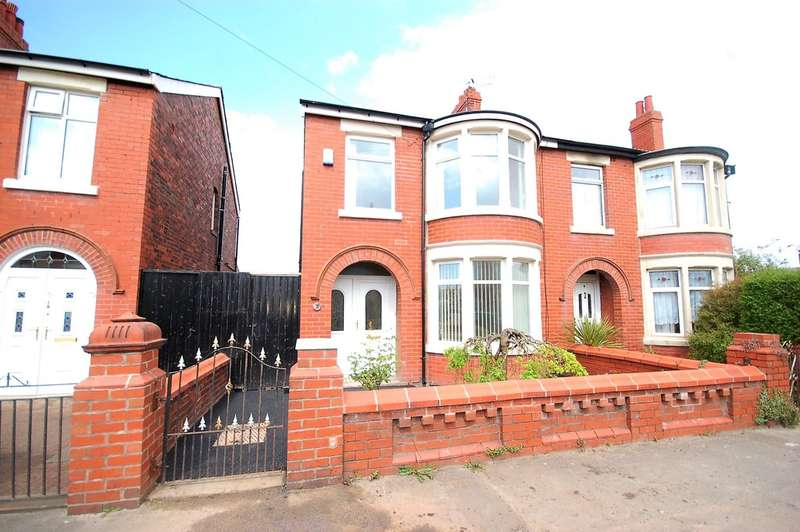 3 Bedrooms Semi Detached House for sale in Orkney Road, Blackpool