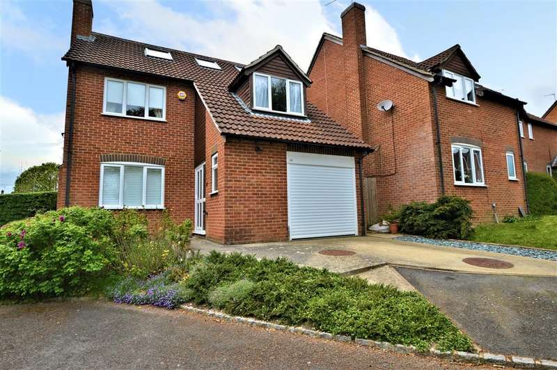 5 Bedrooms Detached House for sale in Burdock Close, Burghfield Common, Reading, RG7
