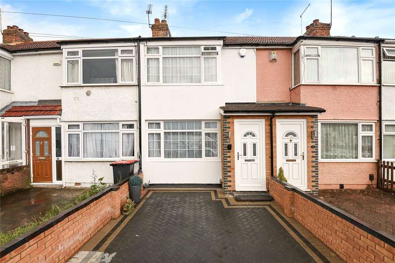 2 Bedrooms Terraced House for sale in Lynhurst Road, Hillingdon, Middlesex, UB10
