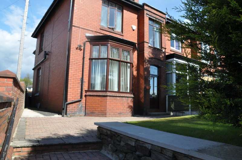 4 Bedrooms Semi Detached House for sale in Rooley Moor Road, Rochdale, Lancashire, OL12 7BS