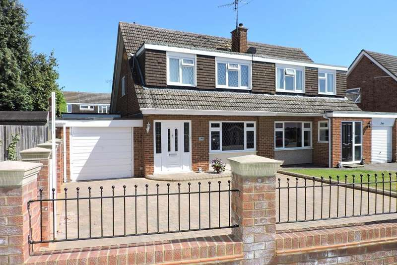 3 Bedrooms Semi Detached House for sale in Turnpike Drive, Luton, Bedfordshire, LU3 3RG