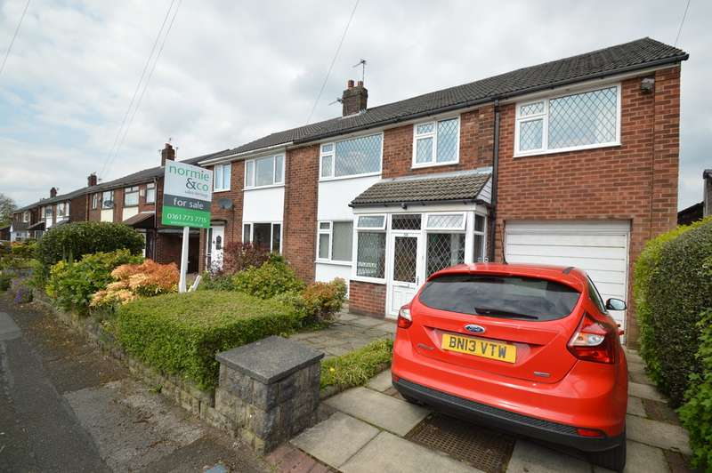 4 Bedrooms Semi Detached House for sale in Wingate Drive, Whitefield, Manchester, M45