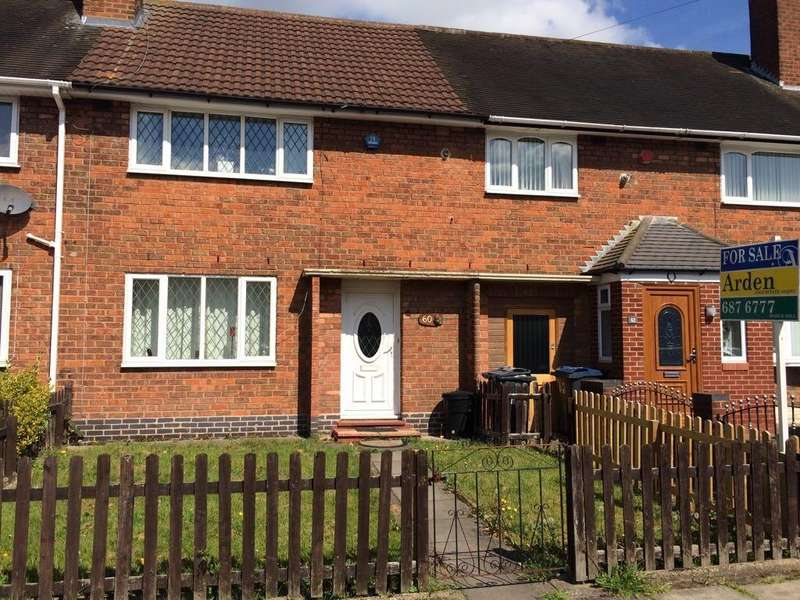 2 Bedrooms Terraced House for sale in Pear Tree Road, Shard End, Birmingham B34