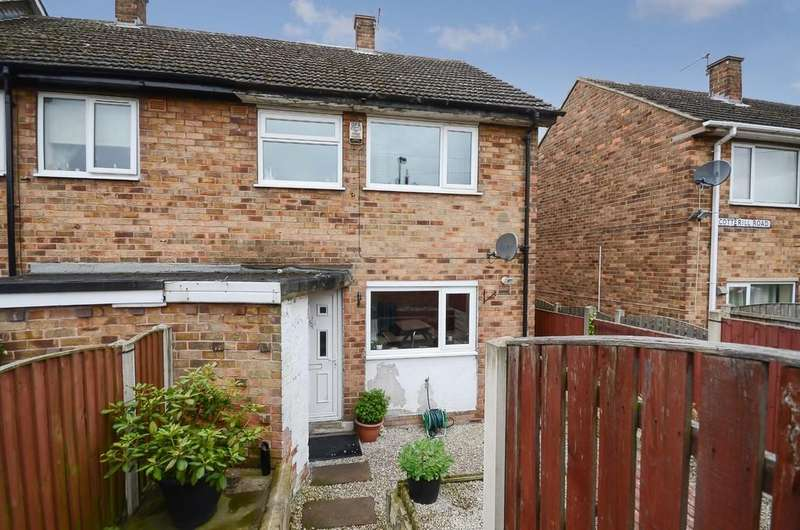 3 Bedrooms End Of Terrace House for sale in Cotterill Road, Knottingley