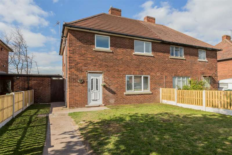 3 Bedrooms Semi Detached House for sale in Norwich Road, Doncaster, DN2