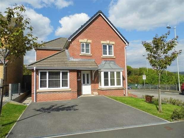 3 Bedrooms Detached House for sale in Clos Gwaith Brics, Tondu, Bridgend, Mid Glamorgan
