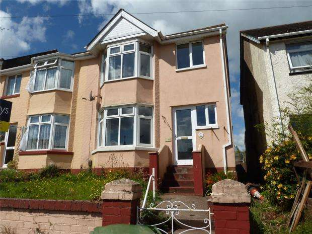 3 Bedrooms End Of Terrace House for sale in Batson Gardens, Paignton, Devon