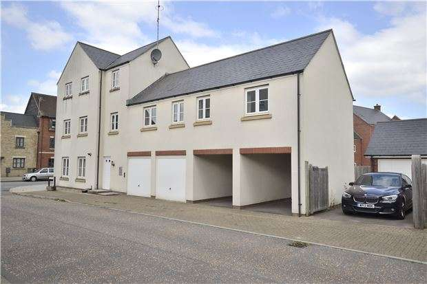 2 Bedrooms Maisonette Flat for sale in Daunt Road, Brockworth, GLOUCESTER, GL3 4BW