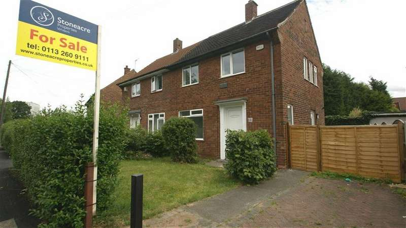 2 Bedrooms Semi Detached House for sale in Mill Green View, Leeds