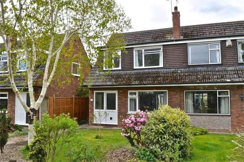 3 Bedrooms Semi Detached House for sale in Brook Way, Hartford, Northwich, Cheshire