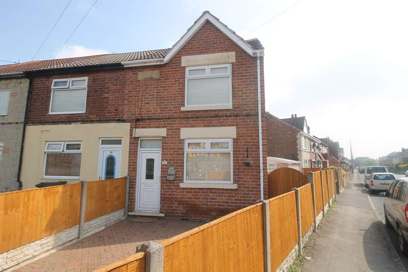 2 Bedrooms End Of Terrace House for sale in Princes Crescent, Edlington