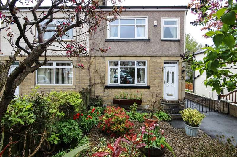 3 Bedrooms Semi Detached House for sale in Victoria Avenue, Bradford, West Yorkshire, BD2