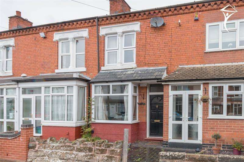 2 Bedrooms Terraced House for sale in Hampton Court Road, Harborne, Birmingham